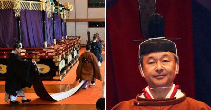 日本新天皇「德仁」正式宣布上位 安倍政府「按照傳統」慶祝:特赦55萬罪犯!