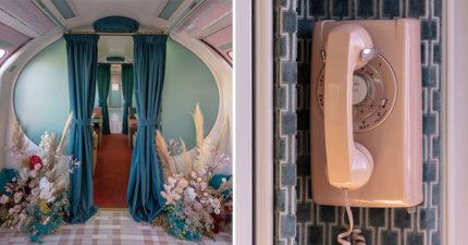 極夢幻「東方快車」驚喜大改造!舊倫敦地鐵變「世界最美車廂」