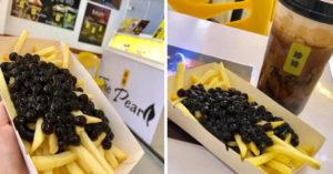 飲料店推「薯條配珍珠」套餐!佛心老闆再送「一杯珍奶」網大驚:原來不在日本?