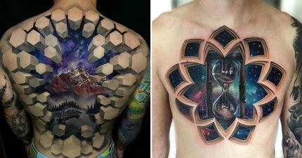 刺青師在客人身體「植入另一個宇宙」超猛特效連奇異博士都羨慕