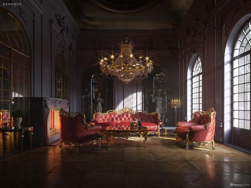 600年以來「不同時期的客廳」風格差超多 文青最愛100年前那款