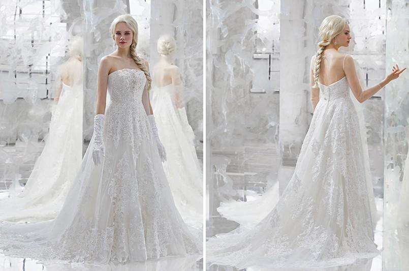 迪士尼推超夢幻「冰雪奇緣」婚紗 安娜招牌洋裝變「多穿式禮服」實用度超高!