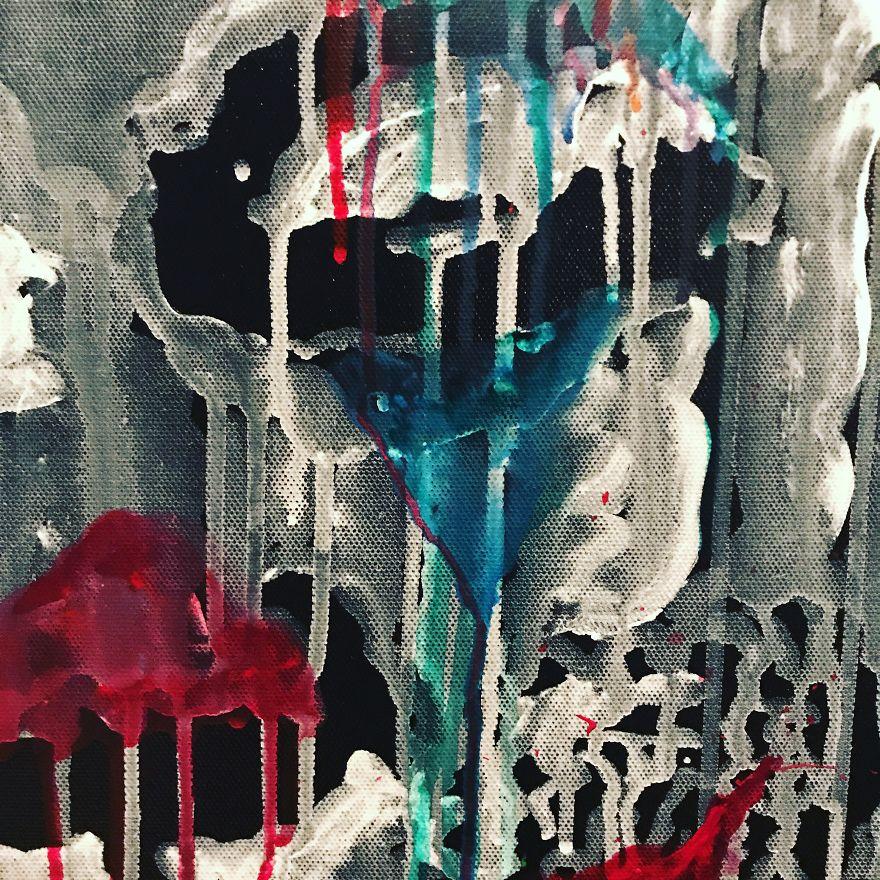 藝術家把「金正恩、川普」畫成小丑 官方卻「擔心太敏感」作品在街頭被消失