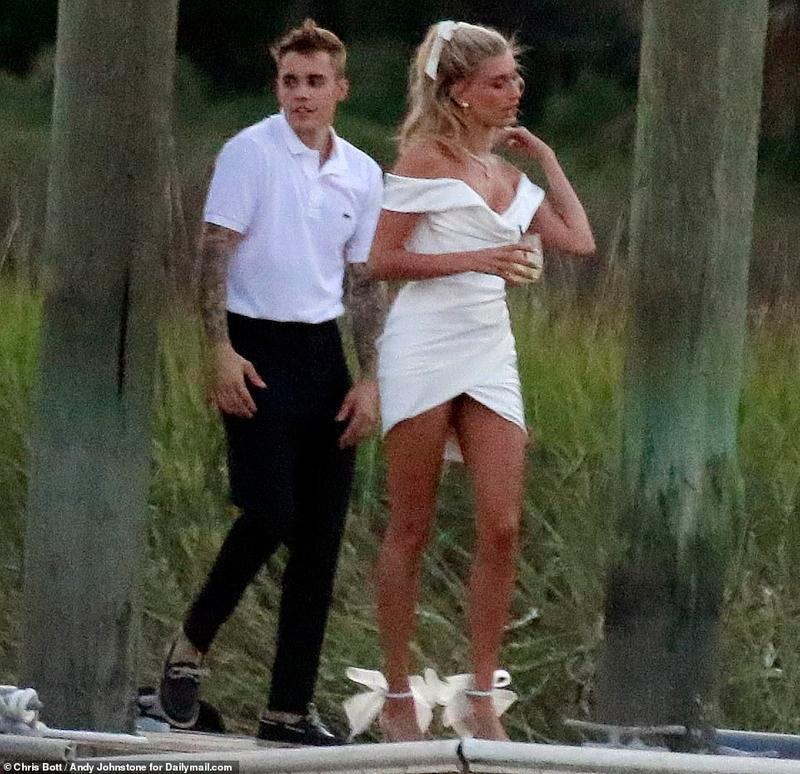 小賈斯汀跟海莉「結婚畫面」流出!一眾大咖現身會場 純金「百萬婚禮禮物」超浮誇