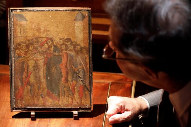 阿嬤多年來把這畫掛廚房爐上 賣房才知「沾油污畫→價值2億」...還是700年前稀世巨作!