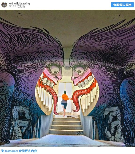20個「從科幻電影走出來」的超狂壁畫 金剛「打破牆爆衝」畫面超驚人!