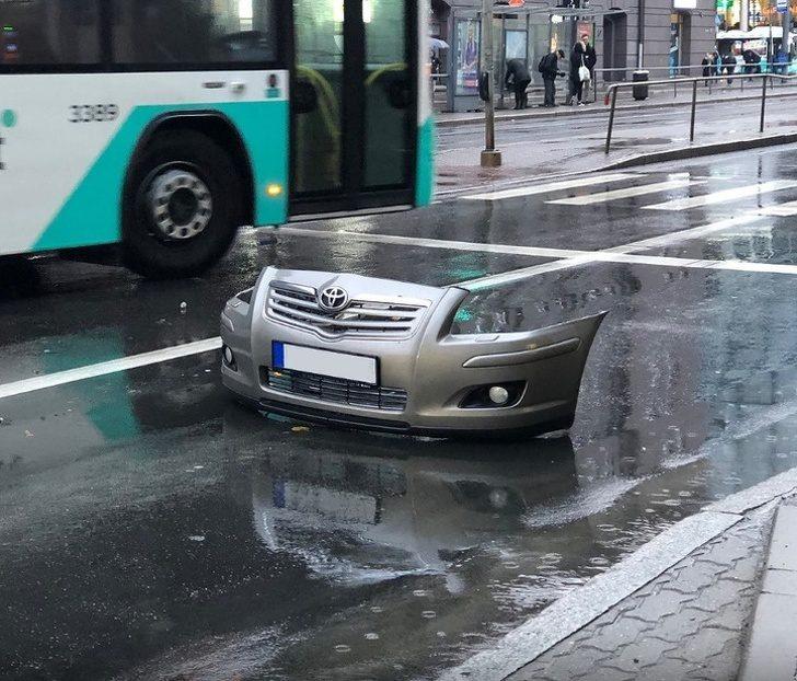 20張「不用修圖就能震驚世界」的視覺錯亂照 車子開到一半「突然隱形」!