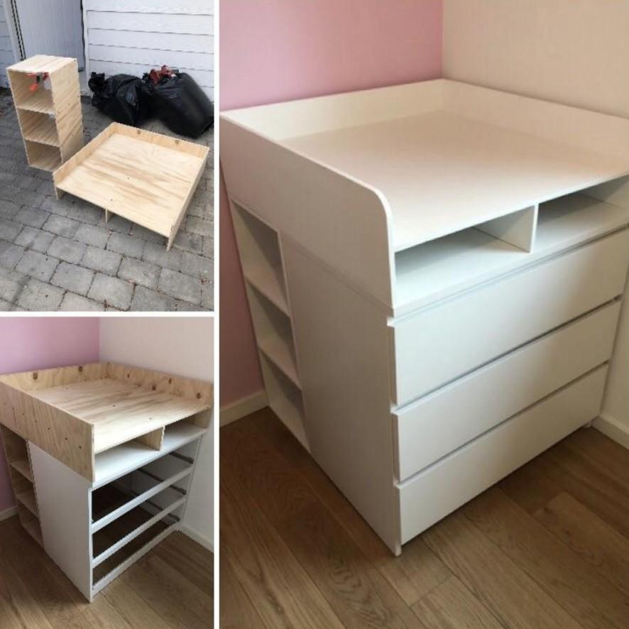神網友把「IKEA平凡家具→高級擺設」前後對比照 普通「兒童床」竟變身華麗城堡