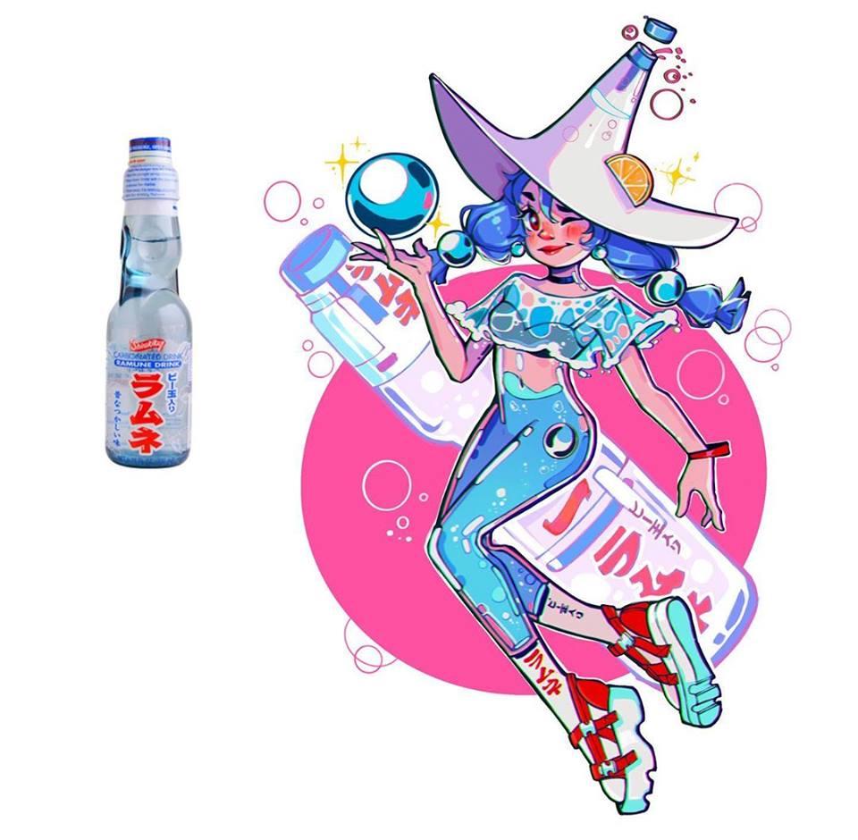 23張可愛度爆表的「品牌擬人化」 OREO變黑白萌妹、多力多滋→雙馬尾正妹!