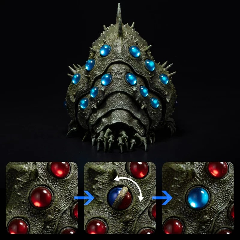 吉卜力推《風之谷》經典「究極王蟲模型」 曝光「眼睛紅→藍」超狂設計!