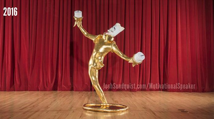 樂觀哥9歲截肢卻「靠單腿」完美Cos經典角色 皮克斯檯燈只有他能辦!