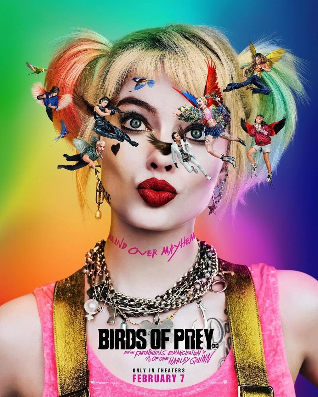 跟小丑分手了!全新《猛禽小隊》預告片+性感海報曝光 小丑女失戀後直接玩超瘋