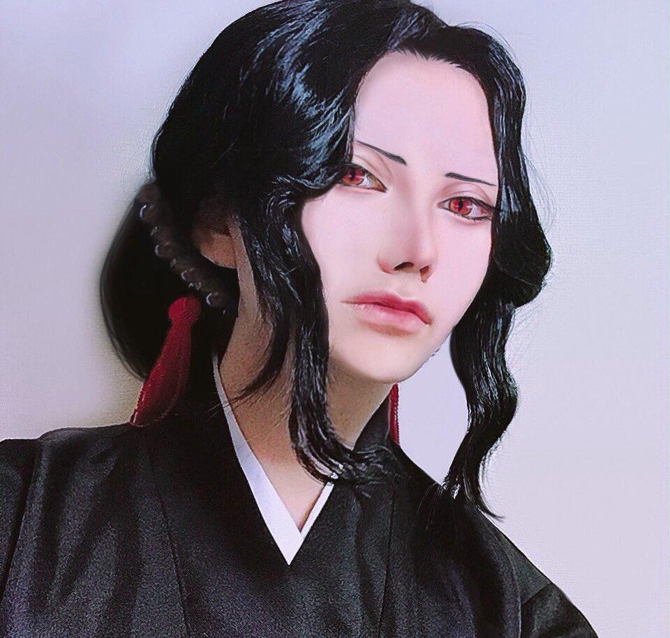 史上最美豔《鬼滅之刃》無慘cosplay 神還原「女版無慘」邪惡眼神讓人秒愛上!