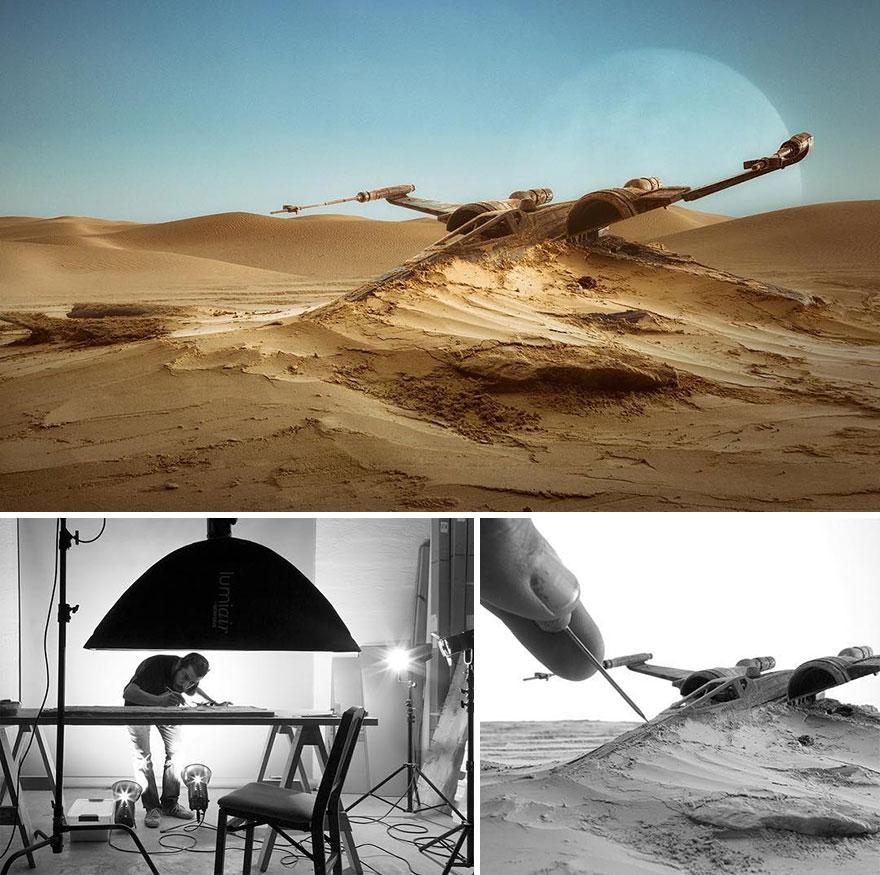 20個「特殊手法攝影」的精細世界 電影場景用「小模型」就能完成!