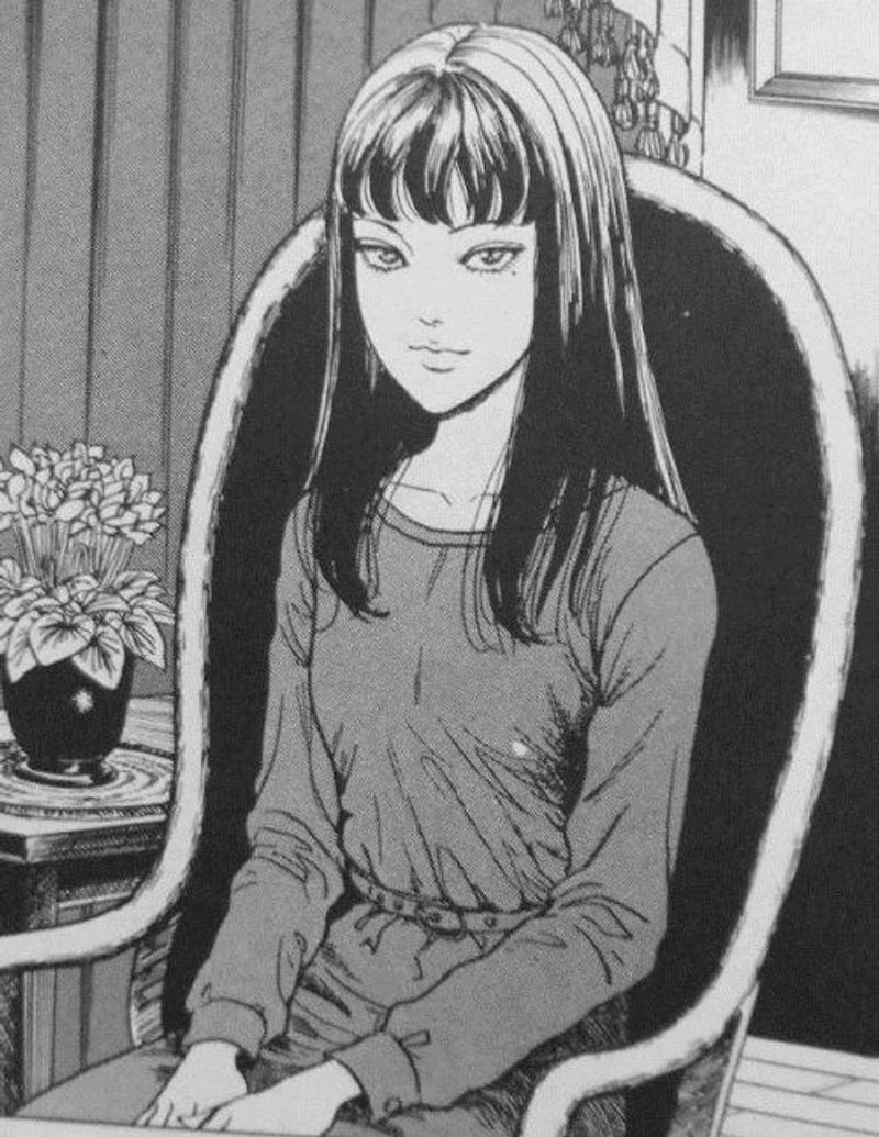 超猛富江Cosplay!她完美還原「漫畫版造型」 超精致細節連「臉部細線」都一樣