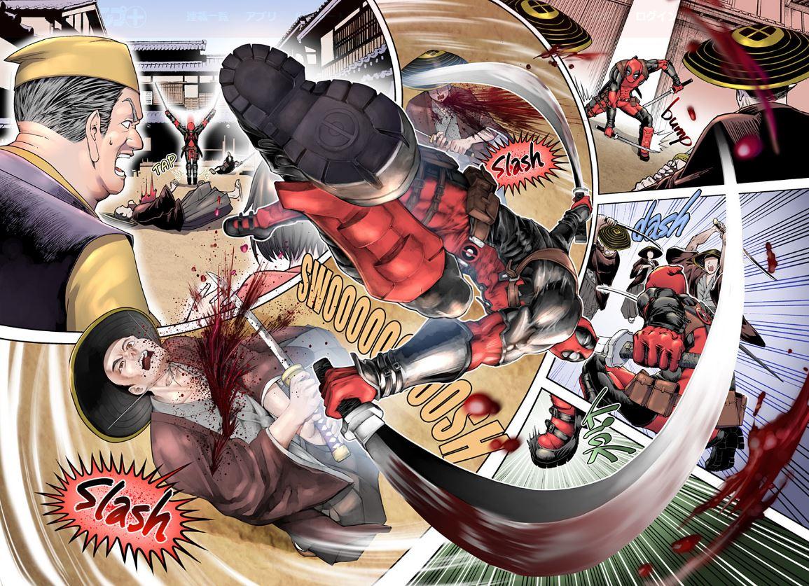 世紀合作!漫威 X JUMP推「死侍短篇漫畫」 賤嘴個性完美詮釋:無違和融入