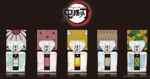《鬼滅之刃》推出角色專屬香水 「超美包裝」粉絲超興奮:好想聞禰豆子的味道❤