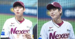 韓國神級小鮮肉!棒球員靠一張「側顏照」帥到全網爆紅 深邃眼神+高挺鼻撞臉BTS柾國❤