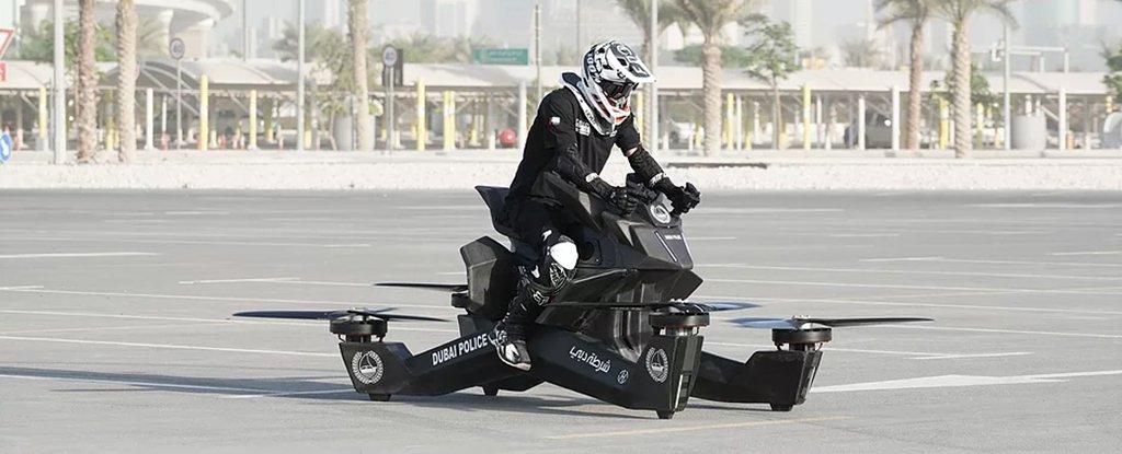 超高科技「飛行摩托車」即將問世 杜拜警察「大手筆包下」:2020全面更新!