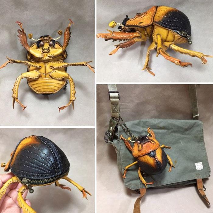 藝術家設計「超擬真動物」時尚單品 神還原「蜈蚣造型手鏈」震驚全網:好可怕