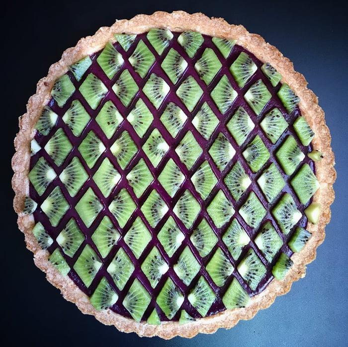 「烘焙界畢卡索」的超美藝術派 「漸層乾燥花」強迫症也被療癒!