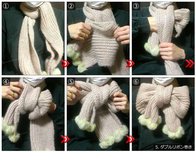 影/櫻花妹教學「30秒綁出蝴蝶結圍巾」 方法意外超簡單...手殘也沒問題!