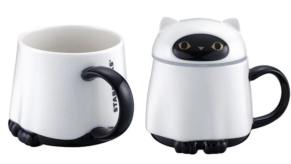 萬聖節限定!星巴克推「超Q黑貓杯」周邊 牠變「萌貓鬼」粉絲尖叫:史上最可愛