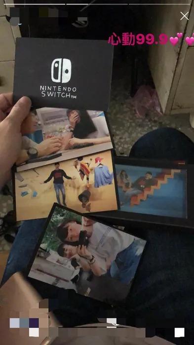 男大生過生日…女友送「Switch手工相簿」小失望 下秒發現「超淚崩驚喜」網讚爆!