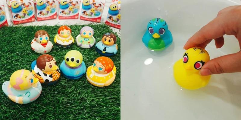 7 11推「百變三眼怪」10款表情都不同 《玩具總動員》變身「洗澡小鴨」超萌❤