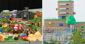 日本環球影城「任天堂樂園」快完工 推特瘋傳「蘑菇王國照」2020有望面世!
