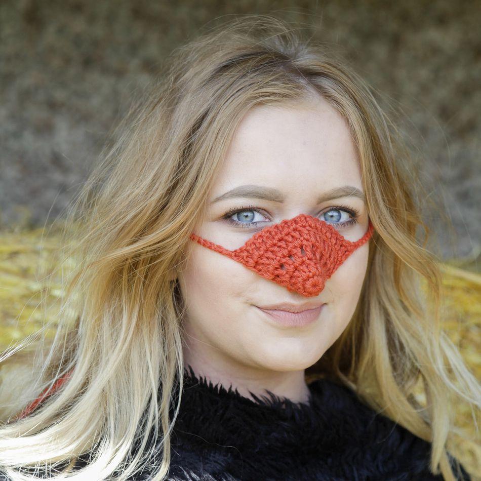 過敏兒必備!恥度全開「鼻子毛衣」全球熱銷中 光靠「戴口罩」還不夠厲害