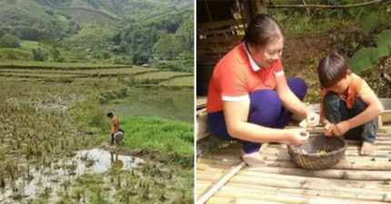 10歲男孩「爸爸、奶奶過世」不放棄 堅持「拒絕幫助」賣菜過活:不想被領養