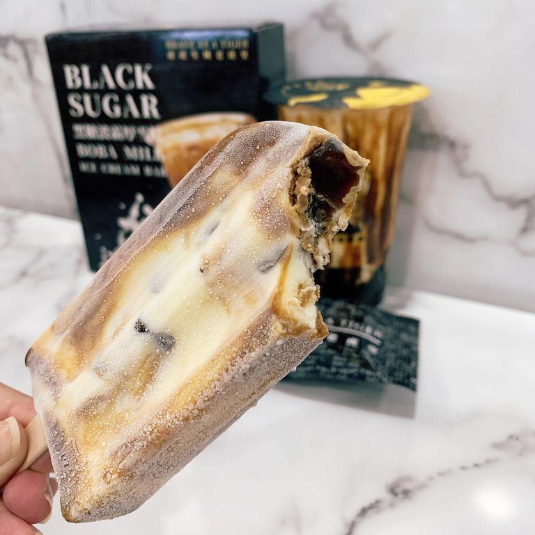 小7開賣「黑糖波霸厚雪糕」超誘人 獨家聯名「老虎堂」珍珠控絕不能錯過!