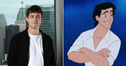 真人版《小美人魚》艾瑞克王子出爐!24歲「英國小鮮肉」酒窩超迷人 神原度本尊