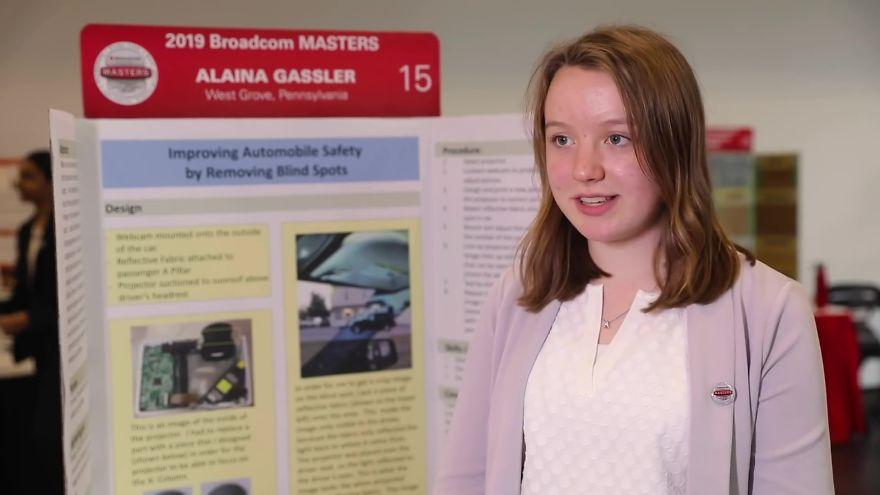 14歲天才少女發明「消除A柱死角裝置」 簡單改造車廂卻能「拯救千萬生命」!