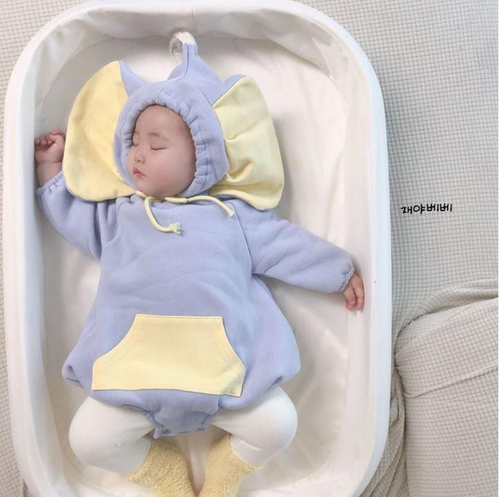 韓限定「大耳朵寶寶裝」萌度爆表 小孩「變身小飛象」爸媽一定要收!