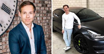 26歲男「不喝星巴克」變百萬富翁!他公開「人生秘訣」曝:埋頭工作就輸了