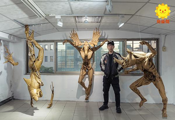 專訪/鍾凱翔憑「1:1鋼鐵人模型」從國外紅回台灣 超狂作品連「小勞勃道尼」都認證!