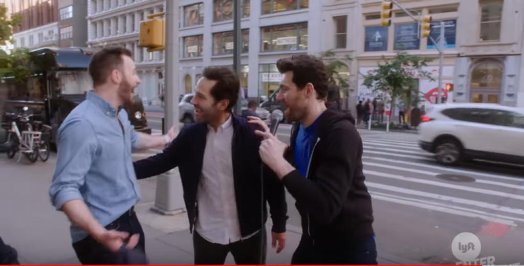 影/「美隊」克里斯伊凡街頭隨機訪問 當面被嗆「不知道你是誰」還捕獲野生蟻人!