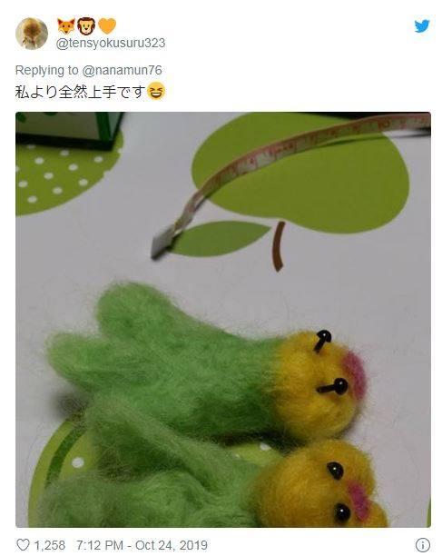 把鸚鵡跟「羊毛氈複製品」擺在一起畫面被瘋傳 本尊看到「假同伴」的反應讓網笑翻!