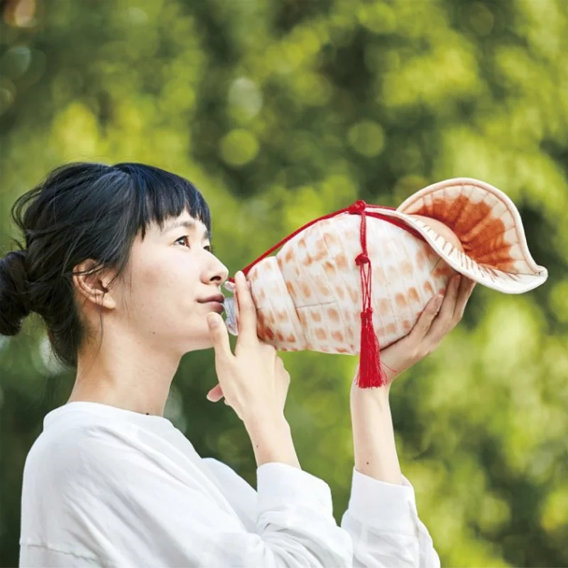 日推搞笑「海螺造型」寶特瓶套 喝水瞬間變超霸氣!