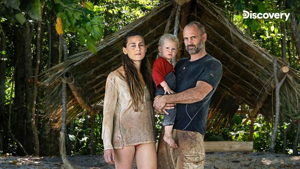 單挑荒野達人艾德挑戰自我極限 帶妻子+2歲兒「在無人島求生一個月」!