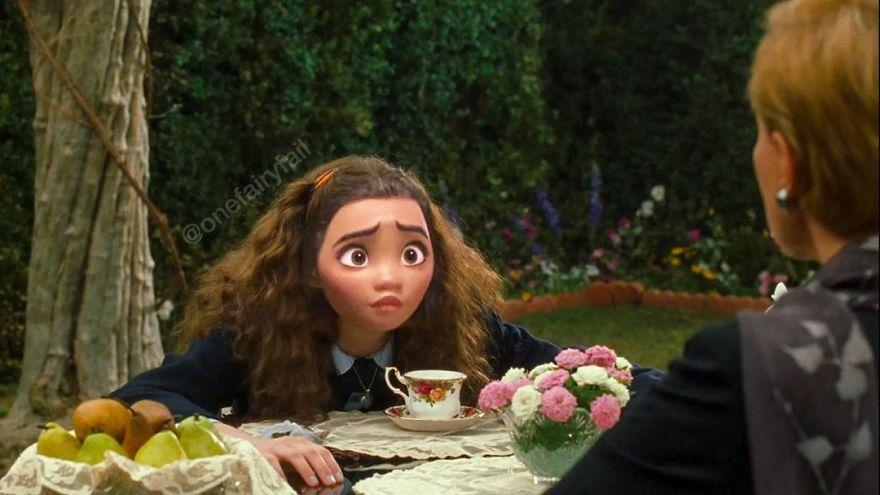 15個「當公主走進經典電影」的無違和畫面 野獸與貝兒重現《格雷的五十道陰影》!