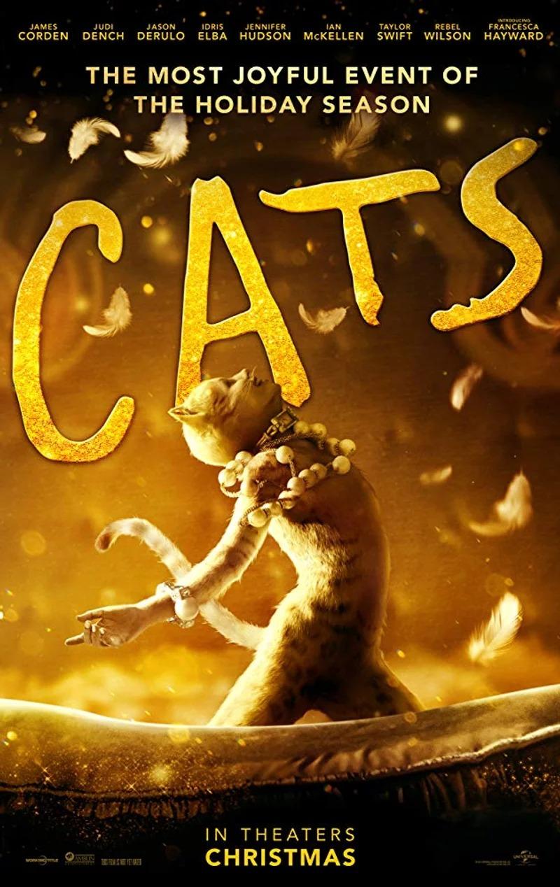 經典音樂劇《貓》拍成電影 第2波預告釋出「明星醜到嚇壞」網友:鬼片嗎?