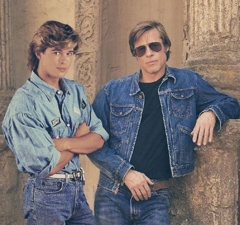 13位好萊塢明星「穿越時空」和過去的自己合照 巨石強森竟完全沒變!