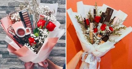 韓妞2019年最夯送禮首選!「化妝品花束」挑戰男友品味:看就知道有沒有用心!