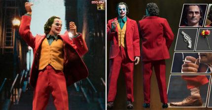超寫實瓦昆小丑1:6公仔開賣 附上「3個階段的臉」整部電影都藏在裡面!