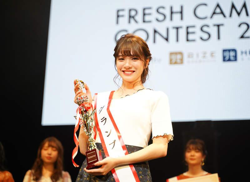 日舉辦「全國最可愛大一生」競爭激烈 冠軍得主「超甜美笑容」融化全網❤