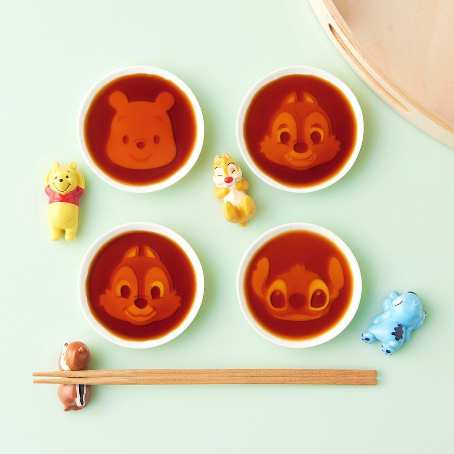 超犯規「人物醬油碟」迪士尼粉尖叫 醬汁一倒「奇奇蒂蒂」立刻可愛浮現!