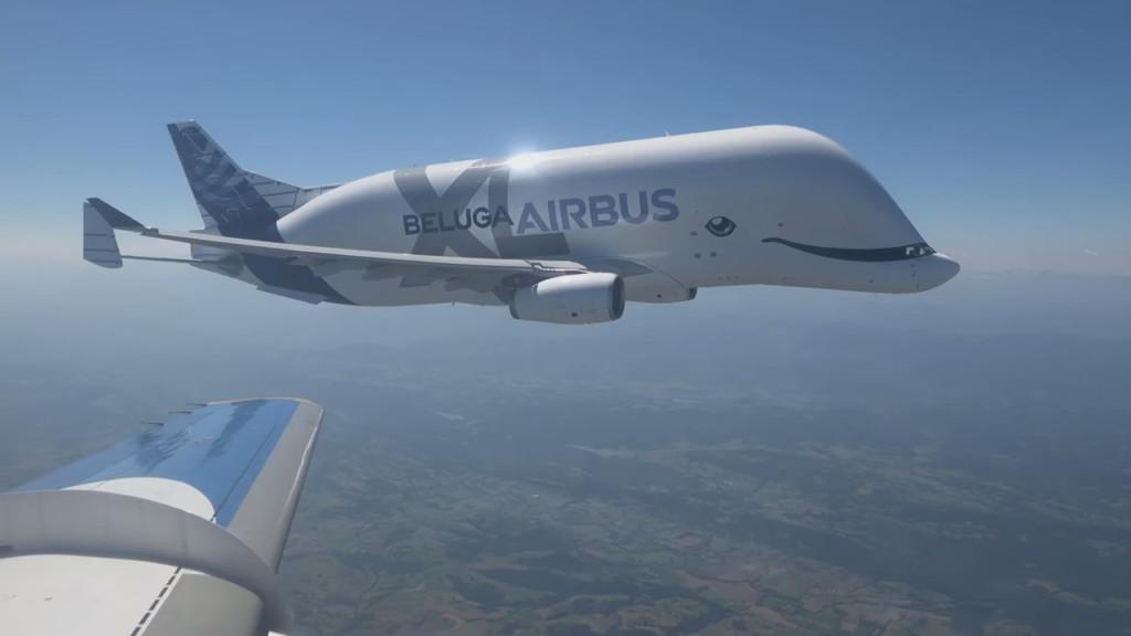 影/地表最可愛飛機!空中巴士「白鯨號」大人小孩都愛 但卻從來不載人?
